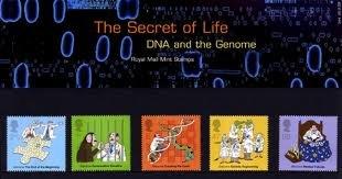Das Geheimnis des Lebens DNA Royal Mail Präsentation pack - 344
