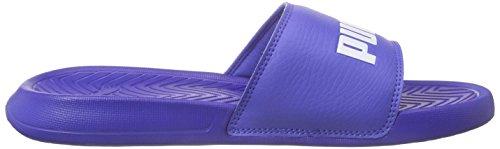 PumaPopcat - Scarpe da Spiaggia e Piscina Unisex – Adulto Blu (Blau (dazzling blue-white 04))