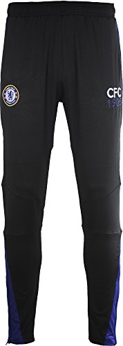 Chelsea FC Fútbol 1341501 M Training Pant adulto, Negro/Royal, FR: M...