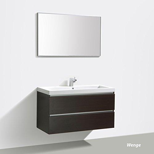 Badmöbelset Waschtisch, Unterschrank und Spiegel