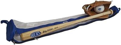 Wilks - Set de sófbol sénior (100 cm), azul