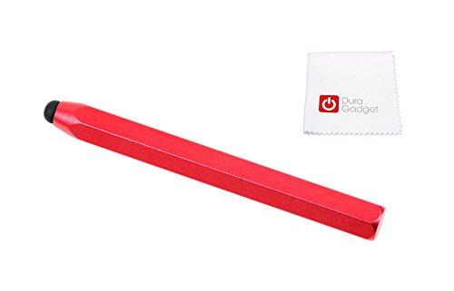 DURAGADGET ROTER Touchscreen-Eingabestift für Garmin Drive 40 LMT CE | Drive 60 LMT EU Navigationsgerät (010-01533-11) und 7 Zoll Junsun GPS Navigator – perfekt für kleine und große Hände