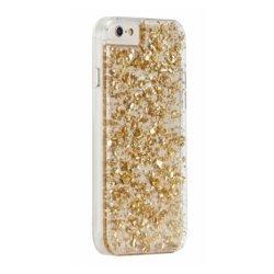 Schutzhülle für iPhone 5 5S SE, Gel, Blattgold