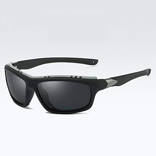 MOLUO Sonnenbrille Top Herren Polarized Army Brille Sport Driving Sonnenbrille UV400 Angeln Herren Tactical Sonnenbrille Steampunk Für Herren, schwarz