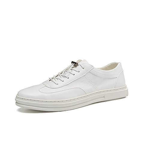 Die neuen weißen Schuhe, Herrenschuhe Mode Schuhe, Freizeitschuhe Bullock White