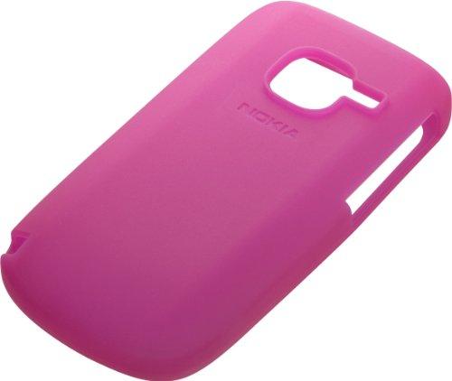 Nokia CC-1004 Silicone Handytasche für Nokia C3 pink