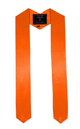 College Fashion - Doktorhüte,Talare, Accessoires College Fashion - Doktorhüte,Talare, Accessoires Schärpe Abschluss spitz orange