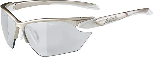 Alpina Damen Twist Five HR S VL+ Sportbrille, Prosecco/White, one Size