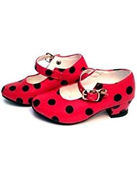 Zapatos infantiles de flamencaDr