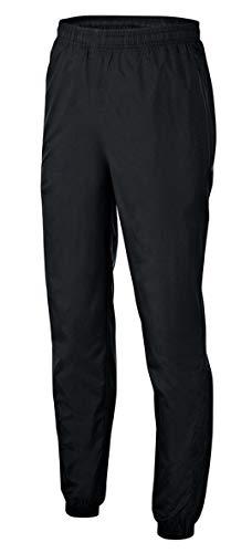 PHINOMEN Schwarze Regenhose für Frauen (Unisex) - wasserdichte Sporthose mit perfektem Windschutz Größe S