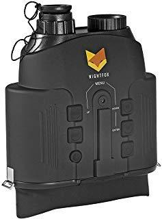 Nightfox 110R Jumelles Vision Nocturne à écran Large et Large avec Infrarouge numérique - Portée de 150 m - Fonction d'enregistrement