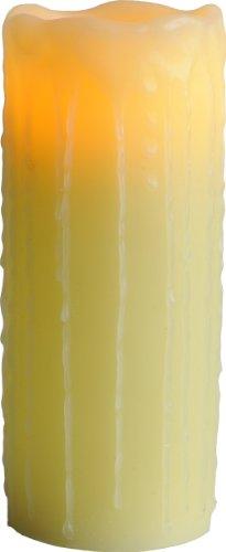 Best Season 066-26 - Lámpara LED con forma de vela, flameante