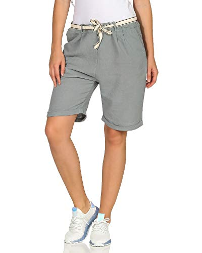 ZARMEXX Pantalones Playa Verano Mujer Pantalones Cortos