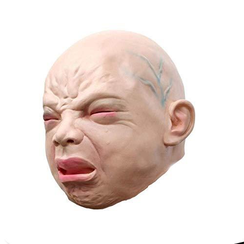Halloween Maske Lustige Party Gesichtsmasken Gruselige Halloween Kostüm Prop Cry Baby Vollkopf Maskerade Latex Maske