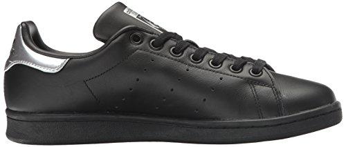 adidas Stan Smith, Baskets Basses Femme Black/Black/Supplier Colour