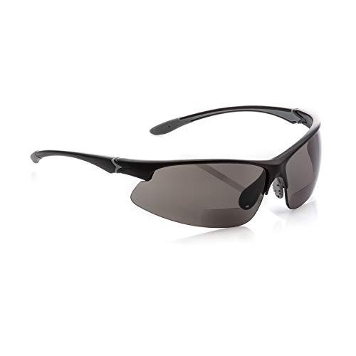 magic-eyewear Sport und Freizeitbrille mit Lesefenster (Stärke +1,50dpt)