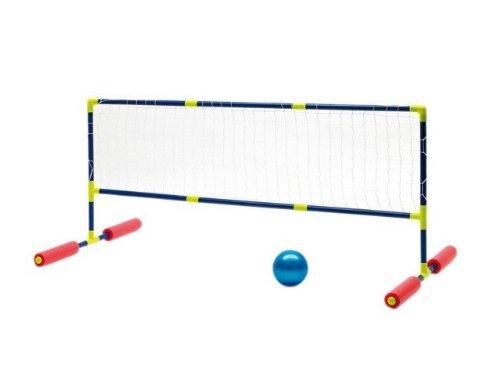 Wasserball Volleyball schwimmend Wasserspiel Kinder inkl. Ball Pumpe Netz Pool Planschbecken NEU