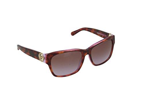 Michael Kors Damen Sonnenbrille MK6003 Salzburg, Braun (Tortoise Pink Purple 300368), One size (Herstellergröße: 58) (Kors Michael Sonnenbrille Pink)