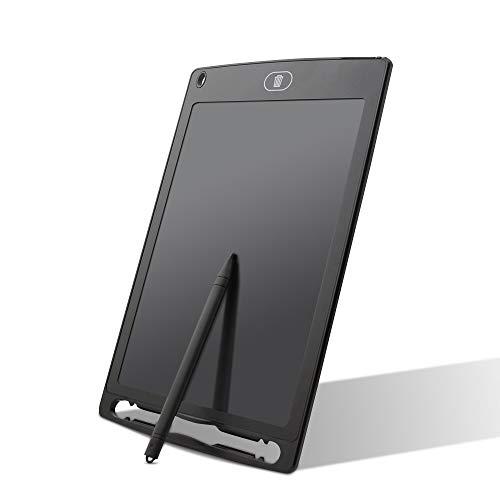 35 - integrity.1 Tablet de Escritura LCD,12 Pulgadas de Longitud LCD Tableta de Escritura con lápiz e imanes,para el hogar, Escuela, Oficina, Cuaderno de Notas,1 año de garantía (Azul)