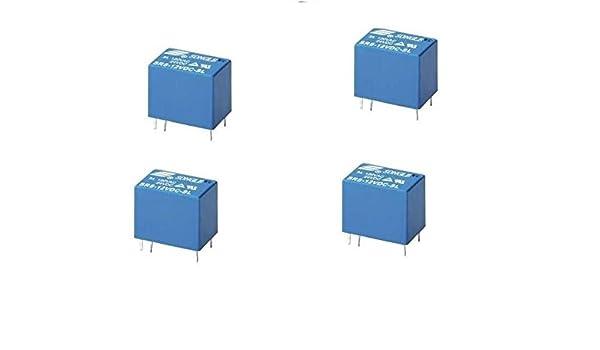 Power Relay 6PIN AB 5pcs 24V DC SRS-24VDC-SL JRC-21F 4100