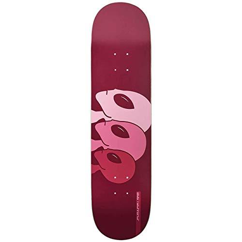 Alien Workshop Skateboard-Deck Strobe Medium - 8.12 Inch Maroon (One Size , )