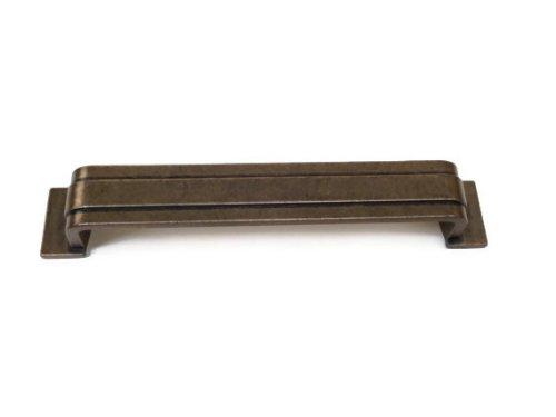160mm Pull-antique (Roma Klassischer D-Griff, 192mm, Antique Bronze)