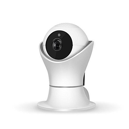 Pan-tilt-system (Internet Netzwerk HD Videokamera 1080P Pan Tilt Netzwerksicherheit CCTV IP Kamera Nachtsicht WiFi Webcam (Weiß))