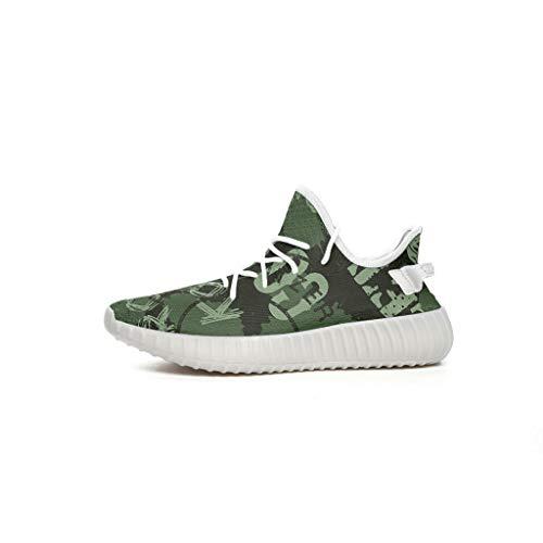 CCL8, Scarpe da Ginnastica Unisex per Ragazzi - Sneakers con Personaggi - Scarpe Basse Leggere da Interno, Bianco (Bianco), 36 EU