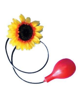 Kostüm Accessoires Clown - Blume mit Wasserspritze zum Clown Kostüm - Lustiges Accessoire zu Karneval oder Kindergeburtstag