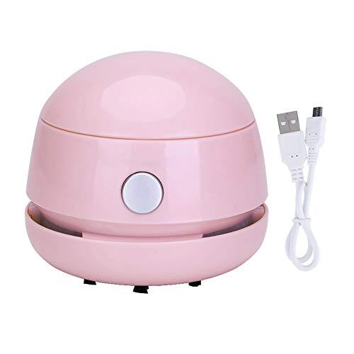cdzhouji Mini Cordless Keyboard Mittel beweglicher Hand Desktop-Staubsauger für Haus Büro Auto Batteriebetriebene 1pc Rosa -