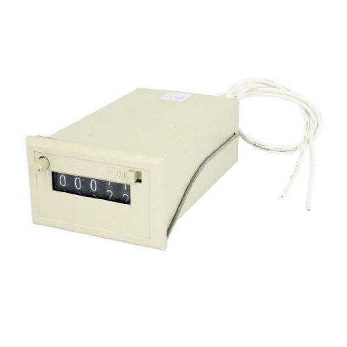 Plage de comptage 0-99999220VAC 5chiffres appuyant sur Reset électromagnétique Compteur