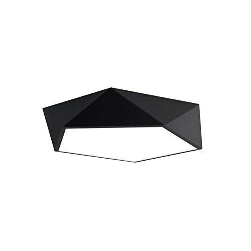 ZI LING SHOP- LED Deckenlampe Schlafzimmer Lampe Wohnzimmer Beleuchtung Kreative Kunst Eingang Courtyard Restaurant Geometrische Beleuchtung Modern Simple Ceiling lights (größe : LED30W[52CM])