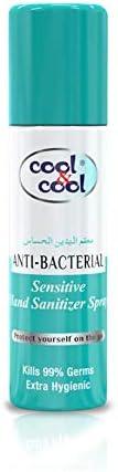 Cool & Cool Sensitive Hand Sanitizer Spray (H1194), 60ml, Pack