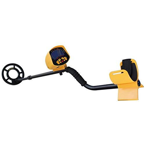 fggfgjg Deep Underground Metal Detector High Sensitivity LCD Screen Hunter Finder(Yellow)