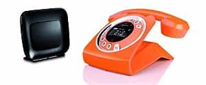 Grundig Sixty Everywhere téléphone fixe Orange avec répondeur (version allemande!)