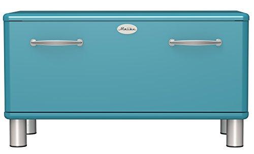 Tenzo Garderobenbank, Holz, 48 x 86 x 41 cm, ocean, 41 cm l x 86 cm b x 47 cm h