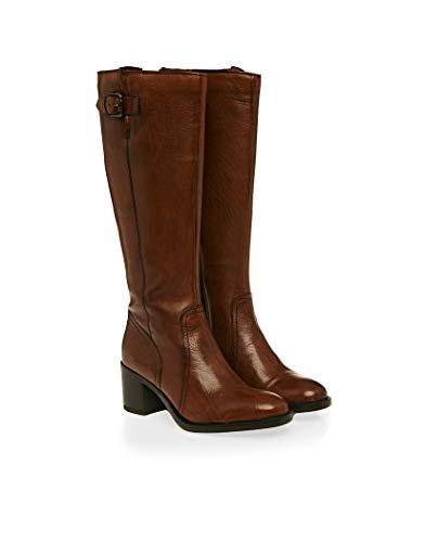 Clarks Damen Mascarpone Ela Stiefeletten, Braun Tan Leather, 38 EU (Clarks-stiefel Damen Braun)