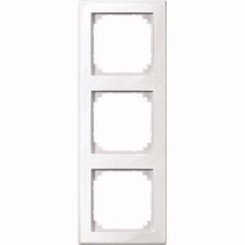 Merten 478319 polarw M-SMART-Rahmen, 3fach, polarweiß glänzend -