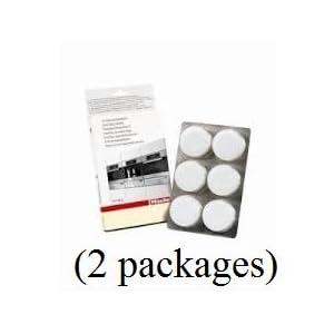 Miele Entkalkungstabletten (Tablets von 12) Teilenummern #05626050