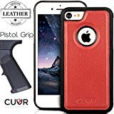 iPhone 7 Case Cover in Real Genuine Leather by Cuvr®. Luxury Cases With The Best Grip For Apple iPhone 7