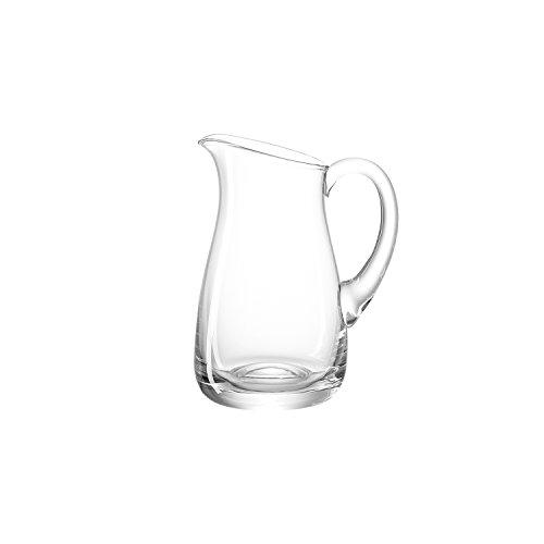 Leonardo Giardino Cruche, Carafe d'Eau, Cruche en Verre, Pot à Jus, Verre, Transparent, 0,5 L, 10236