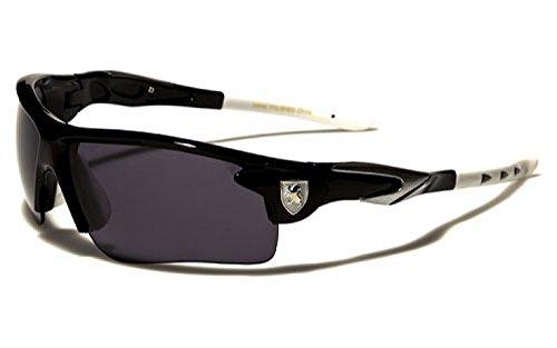 occhiali-da-sole-khan-sport-ciclismo-sci-corsa-a-piedi-moto-tennis-mod-sprint-nero-bianco-un-formato