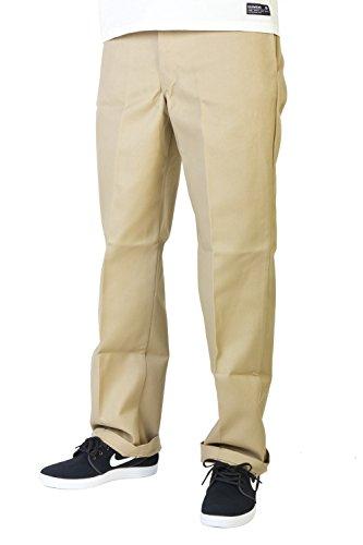 Dickies - Original 874® Work Pant Feizeit chino Herren Hose Dark Khaki Größe 33/32 (Work Pants 874 Dickies Khaki)