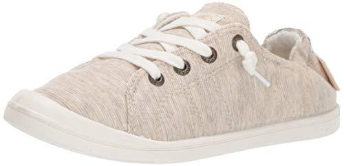 Roxy Damen Bayshore Slip On Sneaker Shoe Turnschuh, New Natural, 39 EU (Von Sneaker Roxy)