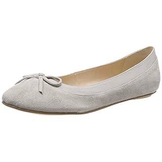Buffalo Damen ANNELIE Geschlossene Ballerinas, Grau (Light Grey 001), 39 EU