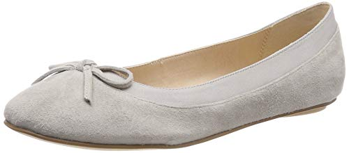 Buffalo Damen ANNELIE Geschlossene Ballerinas, Grau (Light Grey 000), 40 EU