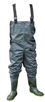 Shakespeare Sigma Nylon Chest Wader Cleated Sole by Shakespeare