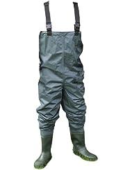 Shakespeare Sigma Pantalon de pêche en nylon avec bottes et semelles anti-dérapantes