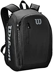 Wilson Unisex Adult 2-WRZ843995 Tour Tennis Backpack - Black/Grey, One Size