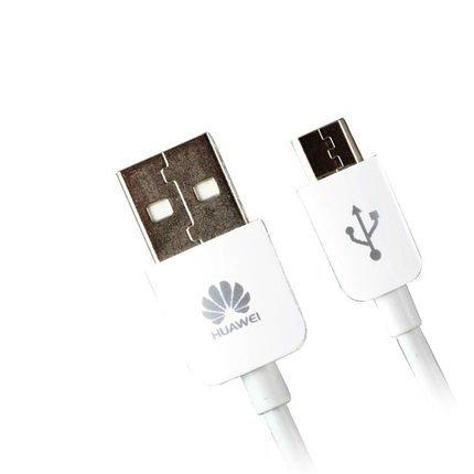 Huawei Micro USB Cavo 1m Adatta Per Huawei Ascend Y220, Y320, Y520, Y550, Y530, G630, G600, G610, G620, G700, Mate7, Honor 6, Honor 4, P6, P7 , P8 in Bulk Pacchetto, Bianco